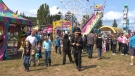 The midway at the Saanich Fall Fair is seen in this undated file photo.