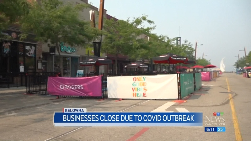 Businesses close due to COVID-19