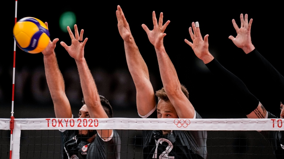 Canada's men's volleyball team