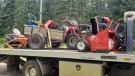 Police say they recovered $37K in stolen property from a home in Nipissing Township. (Ontario Provincial Police)