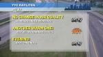 Calgary weather July 30, 2021