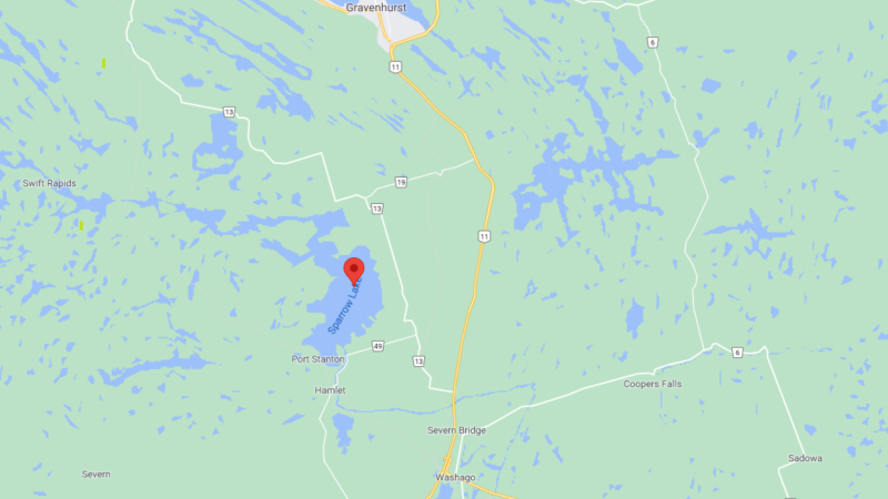 56-year-old Ian Walker was last seen in a canoe on Sparrow Lake in the early morning of Thur., July 29, 2021. (GOOGLE)