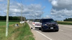Police say multiple people were injured in a crash in Woolwich Township (Carmen Wong / CTV Kitchener)
