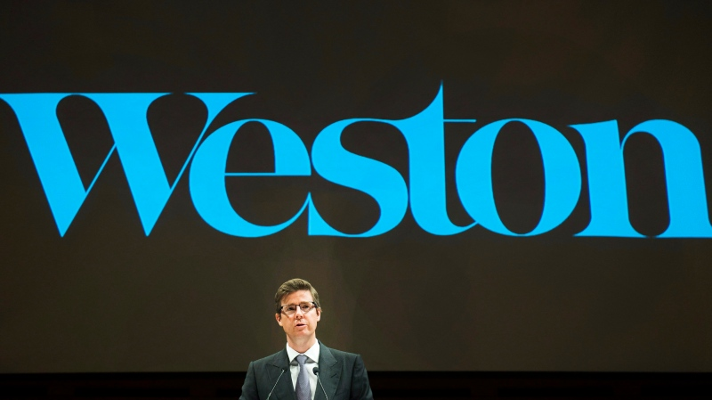 Galen Weston, director of George Weston Limited speaks at the company's annual general meeting in Toronto on Tuesday, May 10, 2016. THE CANADIAN PRESS/Nathan Denette
