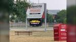 Police are investigating an overnight assault at the Dakota Community Centre. (Source: Jamie Dowsett/CTV News)