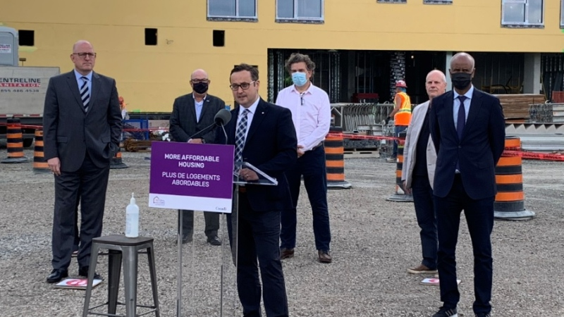 $9.3 million will be allocated to build 35 new affordable homes in Windsor-Essex through the Rapid Housing Initiative (Bob Bellacicco, CTV Windsor)