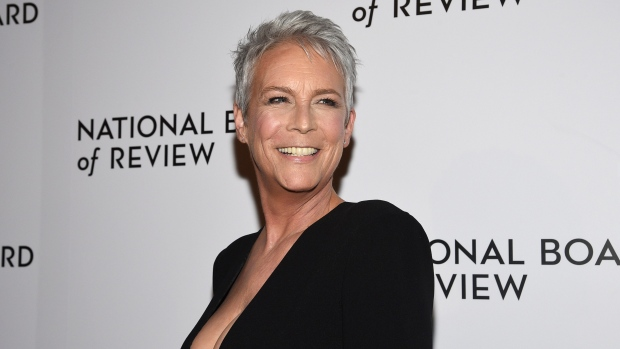 Jamie Lee Curtis attends the National Board of Review Awards gala in New York on Jan. 8, 2020. (Photo by Evan Agostini/Invision/AP, File)