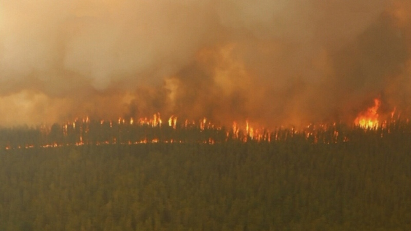 More than 130 wildfires continue in the northwest