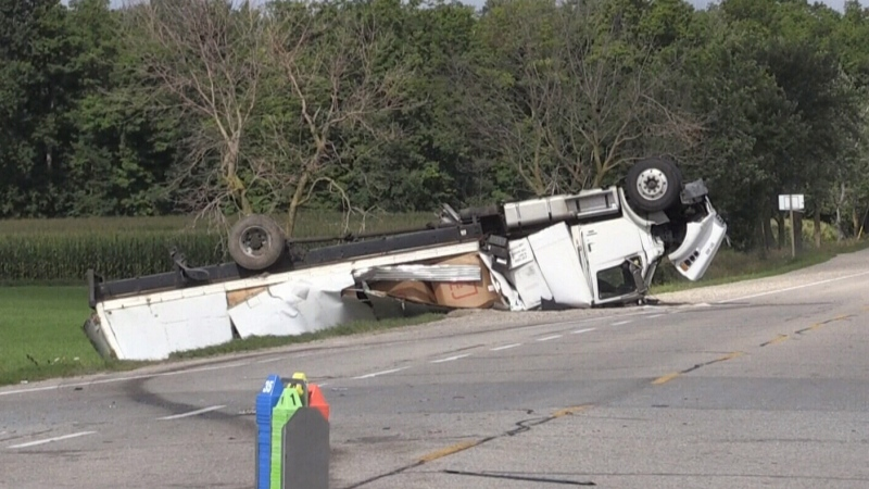 Multiple hospitalized in Woolwich crash