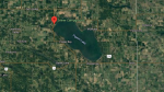On July 30, 2021, Alberta Health Services began advising the public not to swim at Zeiner Beach on Pigeon Lake after elevated fecal bacteria was found there. (Source: Google Maps)