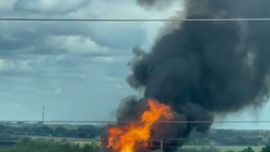 Evacuations in Barrie, Ont. after propane fire