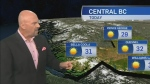 Long weekend weather forecast