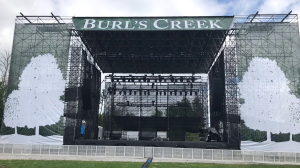 Burl's Creek in Oro-Medonte, Ont., prepares for a weekend of performances and thousands of fans on Fri., July 30, 2021 (Rob Cooper/CTV News)