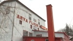 The Arva Flour Mill north of London, Ont. is seen Friday, July 30, 2021. (Marek Sutherland / CTV News)