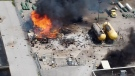 No injuries after propane explosion in Barrie, Ont