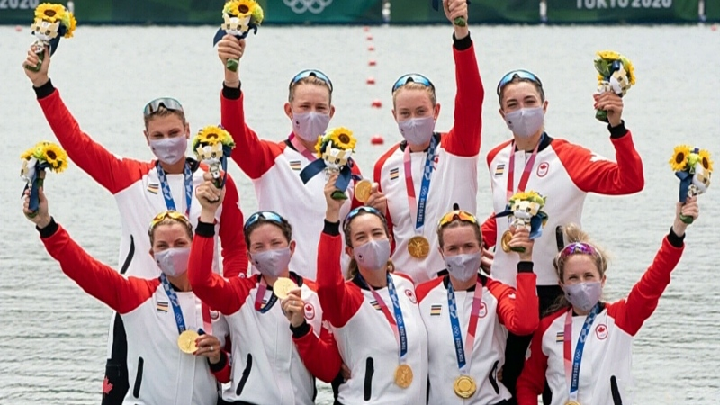 London, Ont. women part of gold medal rowing team