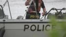 The OPP Marine Unit in Muskoka, Ont. (Katelyn Wilson/CTV News)
