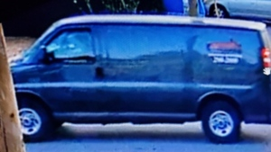 Mounties in Port Coquitlam are asking the public for help identifying the suspect vehicle in a hit-and-run collision that sent a motorcyclist to hospital Thursday. (Coquitlam RCMP)