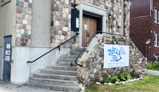 The Sudbury Action Centre for Youth, known as SACY, is a charitable organization is operating a cooling centre at 199 Larch St. for vulnerable people. (Alana Everson/CTV News)