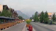 Smoky Banff anxiously awaits visitors