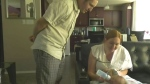 Couple fighting for equal benefits