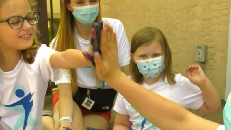 Edmonton summer camp helps kids living with autism