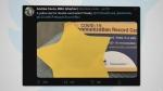 Health authority apologizes for yellow stars