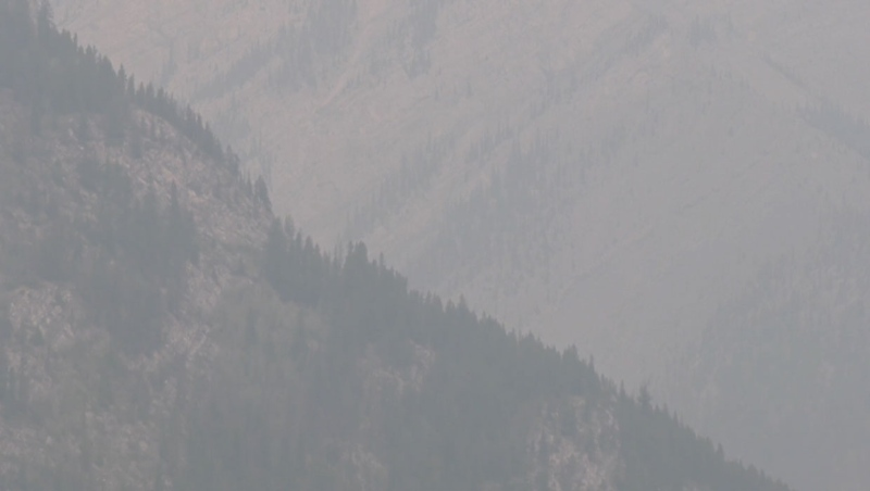 A special air quality statement has been issued for Banff, Jasper and other regions of Alberta due to increased smoke in the area.