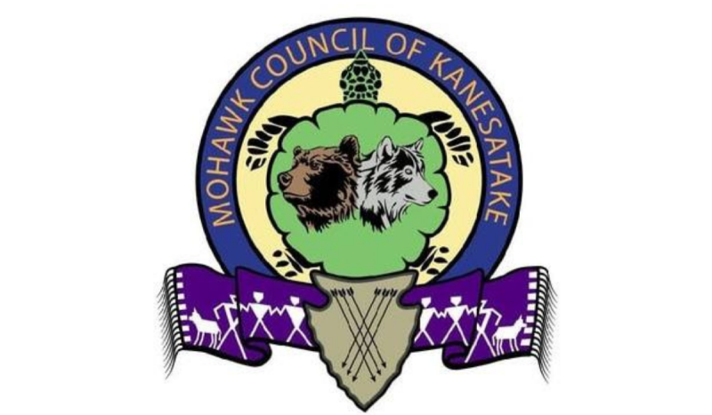 Mohawk Council of Kanesatake logo. SOURCE: MCK
