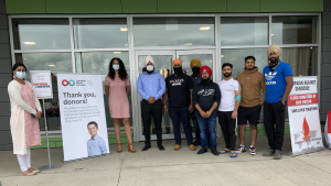 Canadian Blood Services has parterned with the Sikh Nation to encourage people to become plasma donors. The organization says new donors are desperately needed. July 31/21 (Alana Everson/CTV News Northern Ontario)