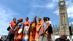 The March for Truth and Justice on Parliament Hill. (Jackie Perez/CTV News Ottawa)