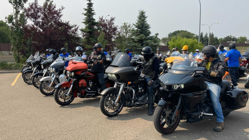 Sikh motorcyclists