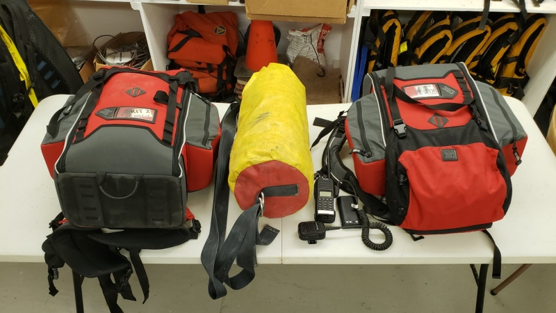 A search and rescue group in B.C.'s Interior is asking the public to keep an eye out for several pieces of equipment that were recently stolen from them. (Twitter/QuesnelSAR)