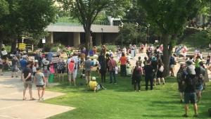 Legislature protest