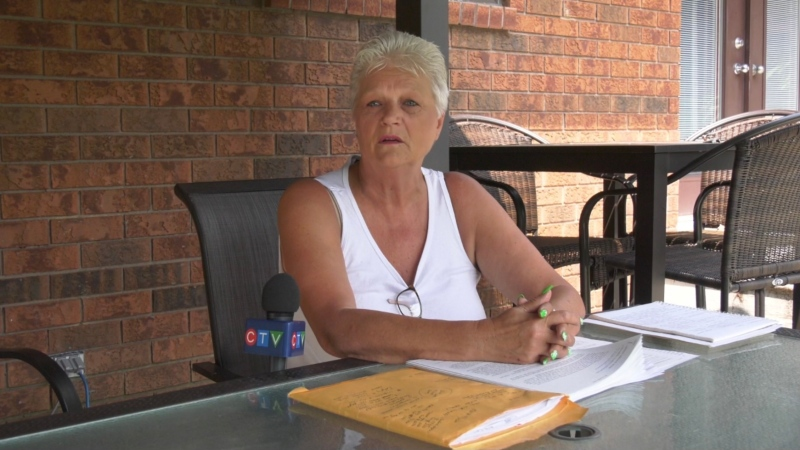 Rosalynne Ouellette continues to have growing frustration with Air Canada as she's still looking for a refund for a flight dating back to March 2020. (Alana Hadadean / CTV News)