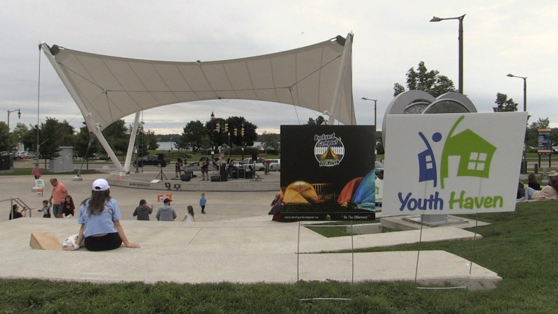 Youth Haven summer campout
