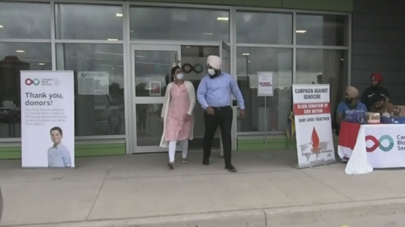 Sikh Nation and blood bank host plasma drive