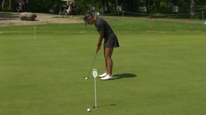 Junior golf tournament tees off in Brockville