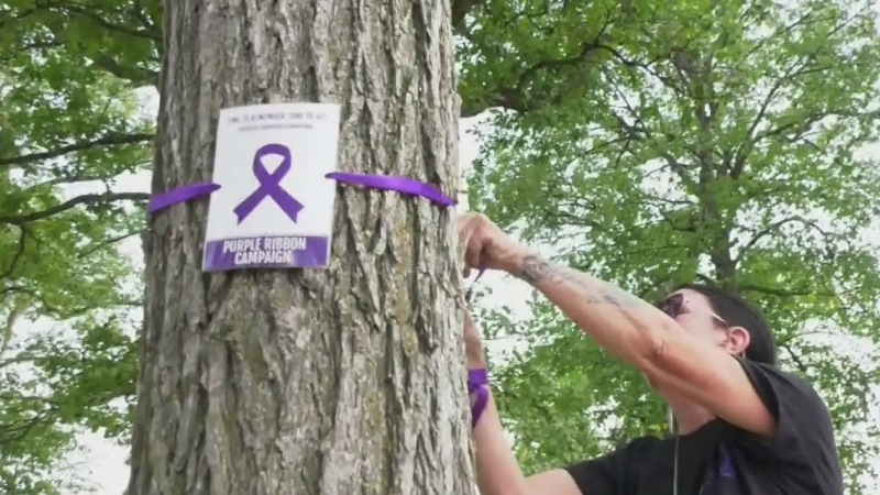 Special memorial created for overdose deaths