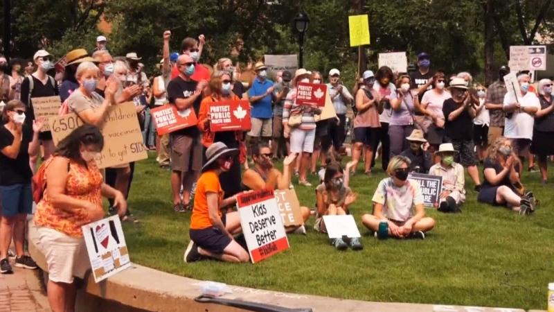 Calgary rally