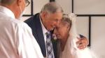 Seniors who met in isolation get married