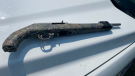 Gun seized by RCMP during investigation. (Source: RCMP)