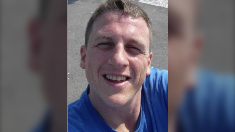 Steven Mitchell, 46, is seen in this undated photograph provided by Toronto police.