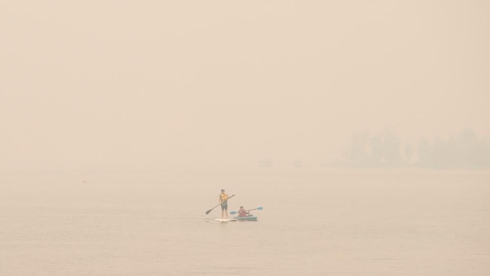 Wildfire smoke in B.C.