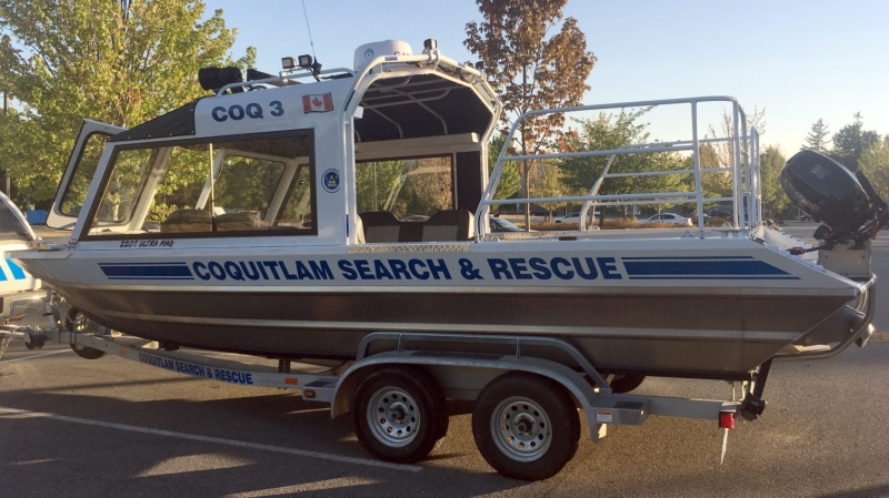 """The """"Coquitlam 3,"""" is Coquitlam Search and Rescue's new marine rescue platform."""