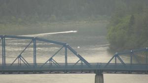 Dawson Bridge missing swimmer