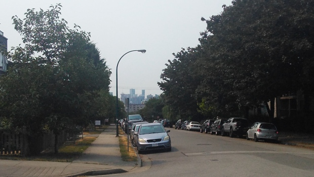 New air quality warning issued for Metro Vancouver as wildfire smoke arrives