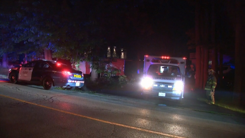 Two seriously hurt in Caledon collision