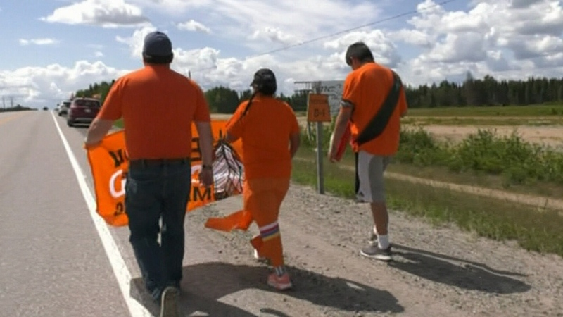 'Walk of Sorrow' arrives in Timmins