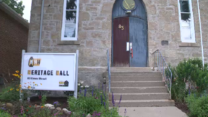 The headquarters of the Guelph Black Heritage Society. (Aug. 1, 2021)